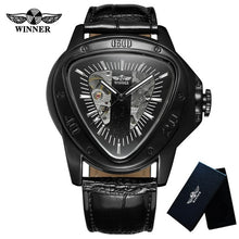 Load image into Gallery viewer, Luxury Leather Band Men Wristwatch