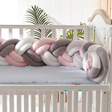 Load image into Gallery viewer, Bumpers Weaving Bed  Safety Protection for Newborn  Baby Cushions