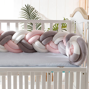 Bumpers Weaving Bed  Safety Protection for Newborn  Baby Cushions
