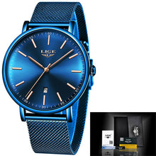 Load image into Gallery viewer, Luxury Waterproof Ultra Thin Wrist Watch