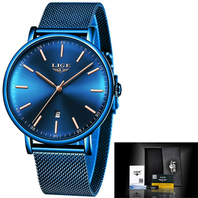 Luxury Waterproof Ultra Thin Wrist Watch