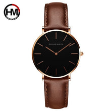 Load image into Gallery viewer, Leather Strap Women Wristwatch (Japan)