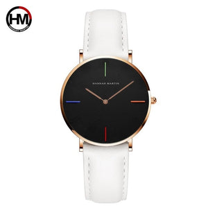 Leather Strap women watch  (Japan)
