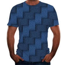 Load image into Gallery viewer, Men's T-shirt Summer 3D Printed