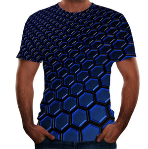 Men's T-shirt Summer 3D Printed