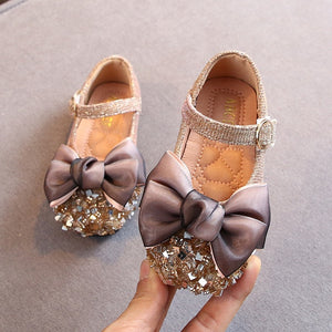 Baby Girls Non-slip Leather Shoes