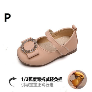Girls   PU Leather Garden Shoes