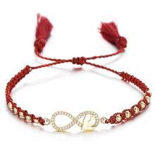 Load image into Gallery viewer, Love Double Heart Ladies Bracelet
