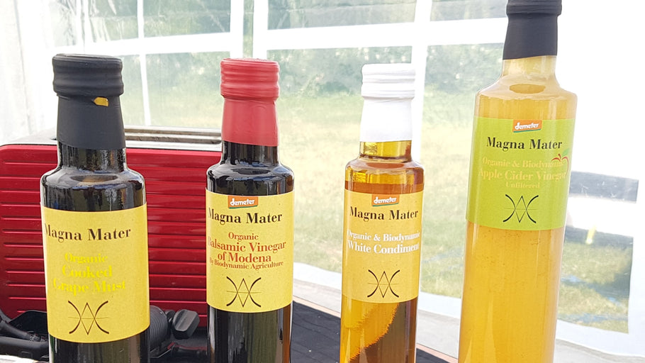 A THING OR TWO ABOUT MAGNA MATER BALSAMIC VINEGARS AND CONDIMENTS