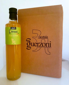 NEW! Guerzoni Organic & Biodynamic Unfiltered Apple Cider Vinegar with the Mother - Box of 6