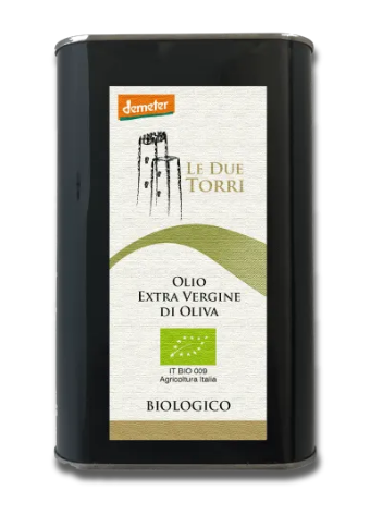 Olivocracy #ONE Medium / Intense Organic & Biodynamic Extra Virgin Olive Oil REBRANDED!  NOW Le DueTorri Medium / Intense Organic & Biodynamic EVOO 1L