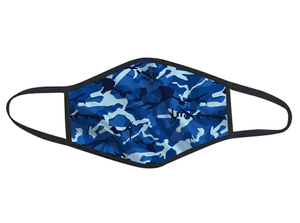CAMO BLUE PPE ANTI MICROBIAL | FACE MASK