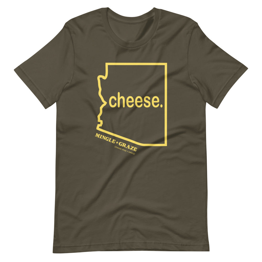 CHEESE | MINGLE + GRAZE | ARMY GREEN