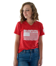 Load image into Gallery viewer, Women's Relentless Shirt - Red
