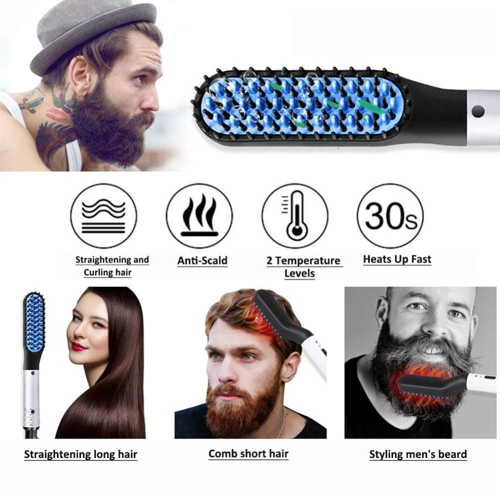 Hair and Beard Straightener
