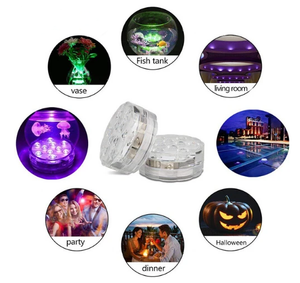💥Limited Time Offer💥Submersible LED Pool Lights Remote Control (RF)