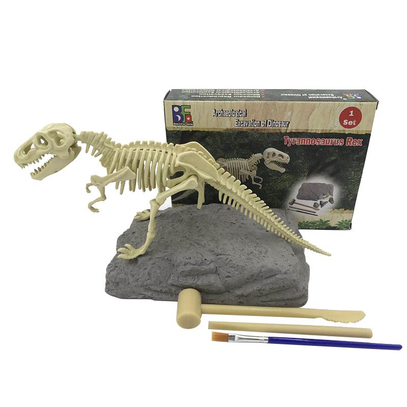 Jurassic Dinosaur Fossil excavation kits Education archeology Exquisite Toy