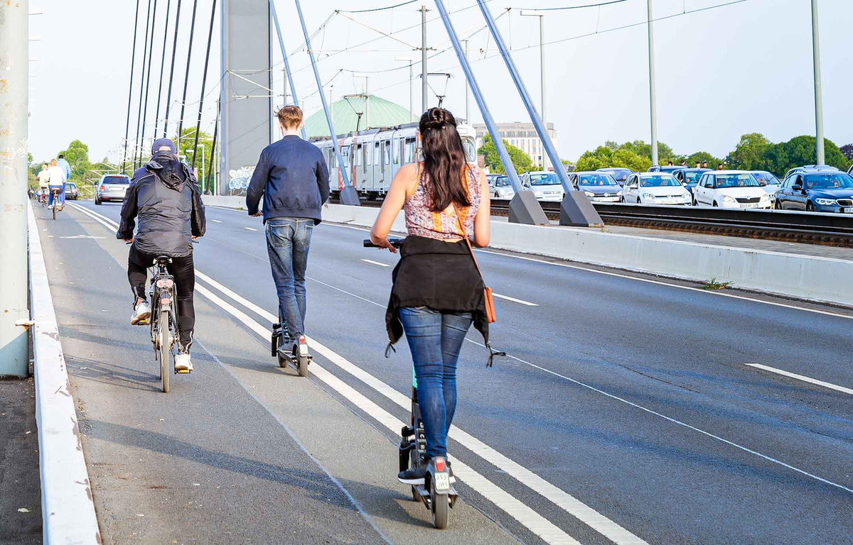 eBikes and eScooters: Green, Healthy and Social