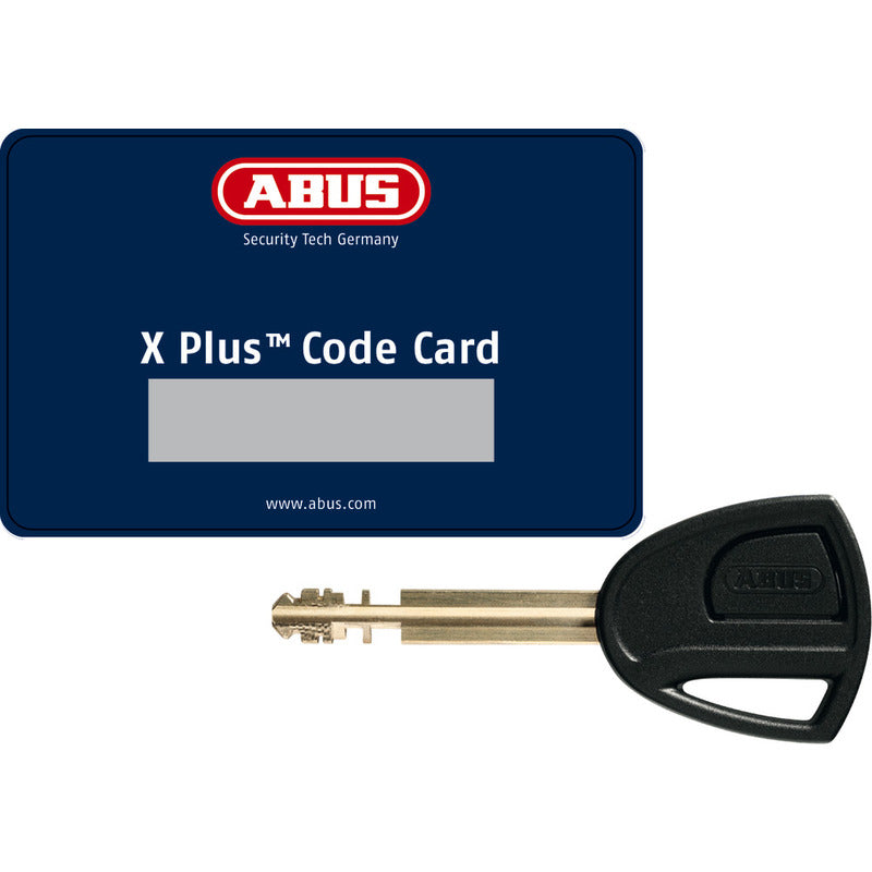 Abus U-Bolt Granit XPlus 540 230x13mm Key Bike Lock Card