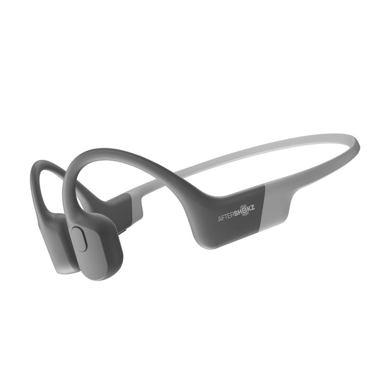 Aftershokz Aeropex Wireless Bluetooth Headphones Lunar Grey