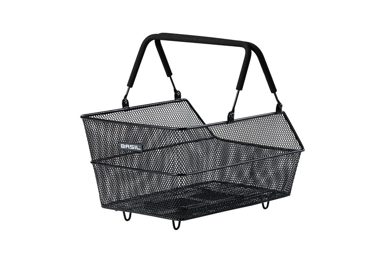 Basil MIK Cento Rear Basket Black