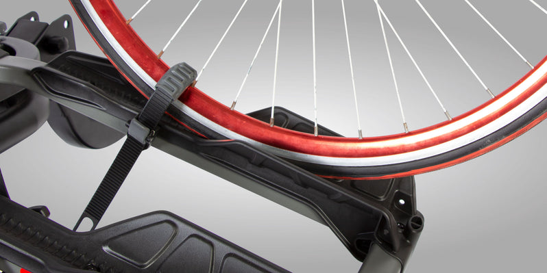 Buzzrack e-Hornet 3 Platform Hitch Mount Bike Rack Rubber Strap