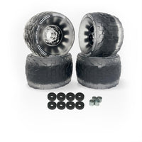 CloudWheel Discovery Urban All Terrain Off Road eSkateboard Wheels Black 105mm