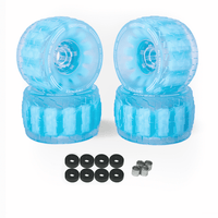 CloudWheel Discovery Urban All Terrain Off Road eSkateboard Wheels Blue 105mm