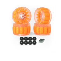 CloudWheel Discovery Urban All Terrain Off Road eSkateboard Wheels Orange 105mm
