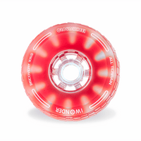 CloudWheel Discovery Urban All Terrain Off Road eSkateboard Wheels Red 105mm Front