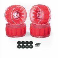 CloudWheel Discovery Urban All Terrain Off Road eSkateboard Wheels Red 105mm