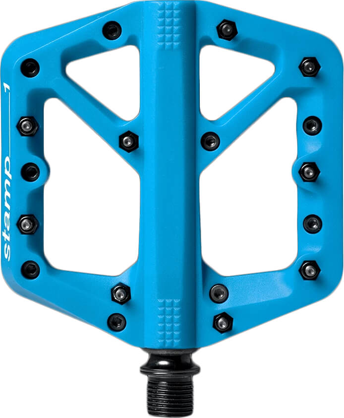 Crank Brothers Stamp 1 Pedal Pair Blue