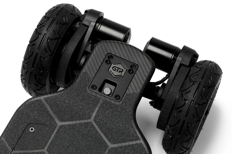 Evolve GTR Carbon All Terrain e Skateboard Logo