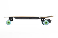 Evolve Stoke e Skateboard Orangatang Caguama 85mm Blue 77A Side