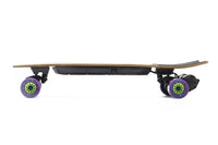 Evolve Stoke e Skateboard Orangatang Caguama 85mm Purple 83A Side