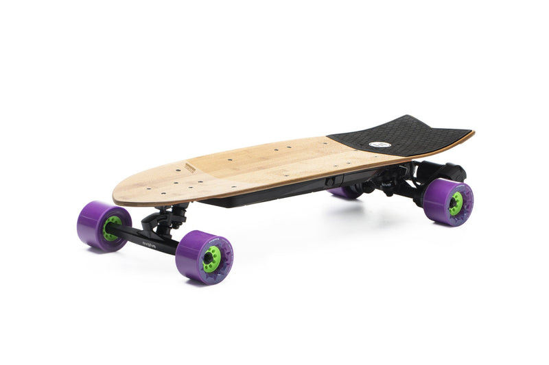 Evolve Stoke e Skateboard Orangatang Caguama 85mm Purple 83A