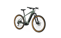 Focus Jarifa 6.7 NINE e Mountain Bike Green Angle Front