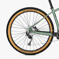 Focus Jarifa 6.7 NINE e Mountain Bike Green Wheel