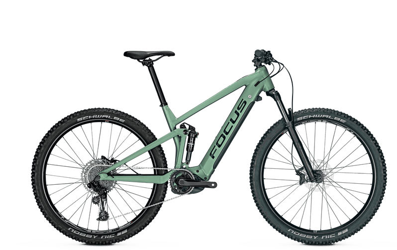 Focus Thron 6.7 e Mountain Bike 2021 Green Side