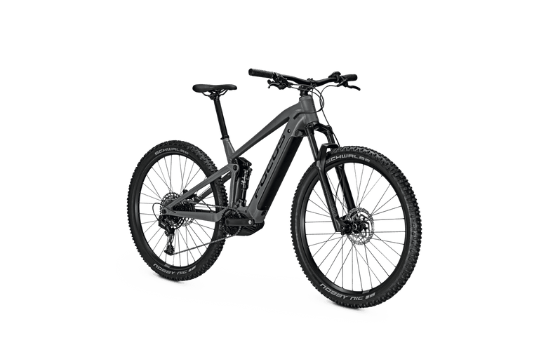 Focus Thron 6.7 e Mountain Bike 2021 Grey Angle Front
