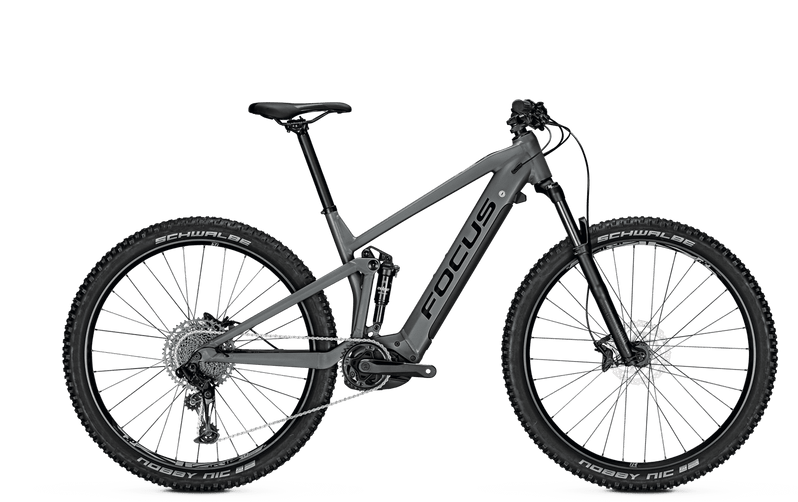 Focus Thron 6.7 e Mountain Bike 2021 Grey Side