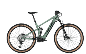 Focus Thron 6.9 e Mountain Bike Green