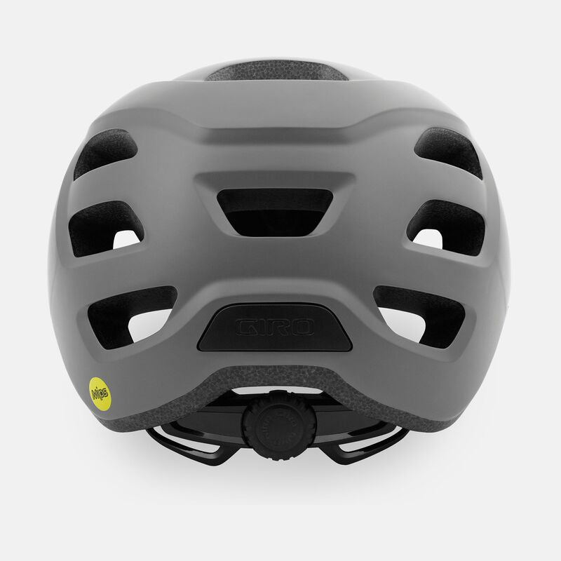 Giro Fixture MIPS Recreational Helmet Frost Grey Back