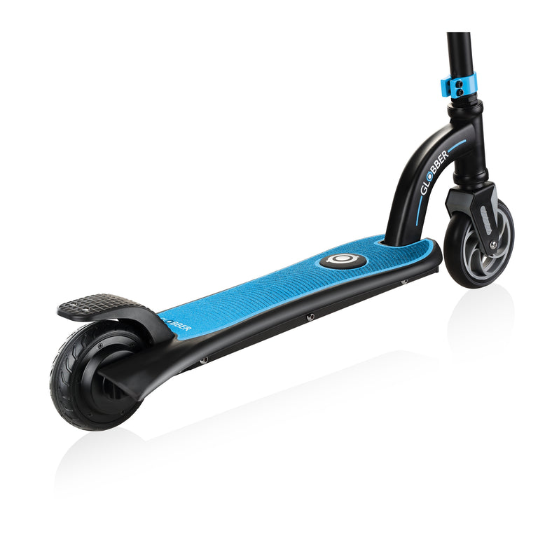 Globber ONE K E Motion 10 Youth e Scooter Wheels Blue