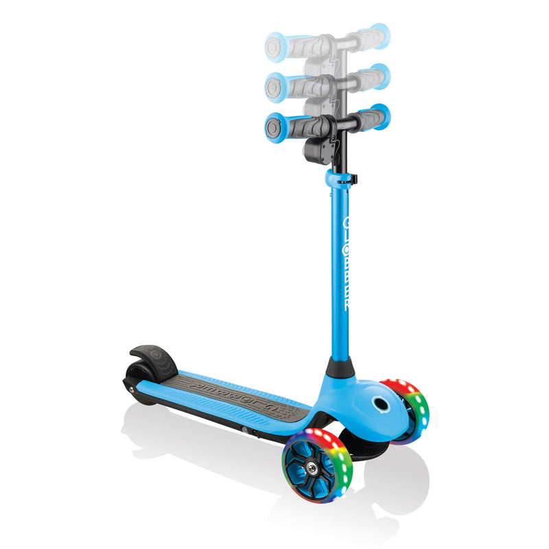 Globber ONE K E Motion 4 Kids e Scooter Handlebars Blue