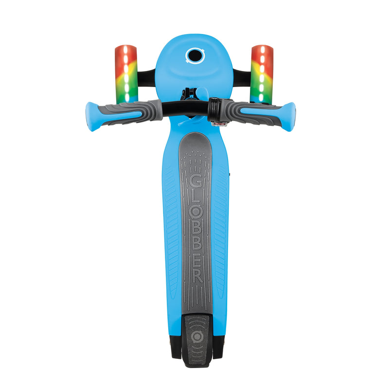 Globber ONE K E Motion 4 Kids e Scooter Top Blue