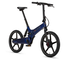 GoCycle GX Folding ebike Blue Full