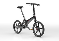Gocycle GXi Black Angle