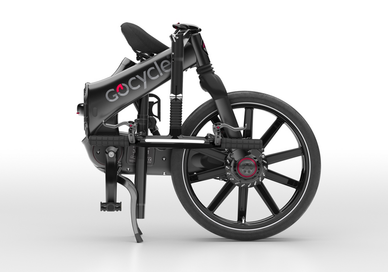 Gocycle GXi Black Folded Right