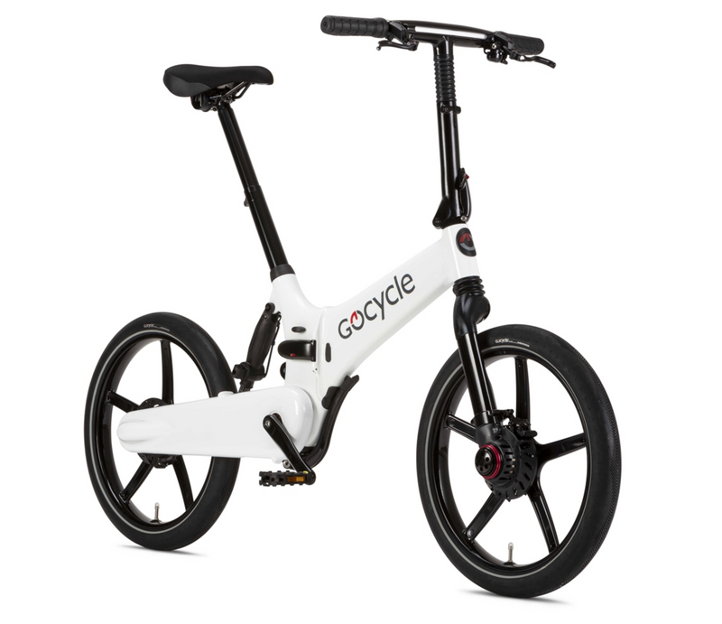 Gocycle GXi White Angle
